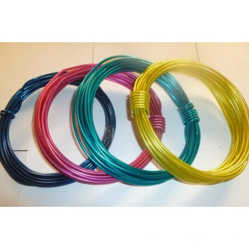 PVC Coated Tie Wire for Hanger Wire/PVC Coated Iron Wire Bwg21/18-Bwg8/6