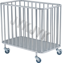 Stainless Steel Trolley for Dirty Clothes