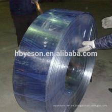 China Hoop hierro de la fábrica, tira de acero galvanizado
