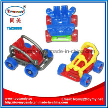 Best Selling Funny Mini DIY Assembly Ejection Plastic Car Toy