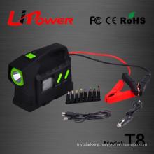 23100mah 24V Polymer Li-ion battery multi-function auto emergency start power with beacon flashlight