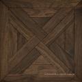 Piso de pisos de mosaico de madeira de carvalho engenharia arborizada padrão de revestimento