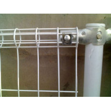 Outdoor Retractable Cyclone PVC Coated 3D Fence