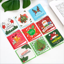 Merry Christmas Little Mini Greeting Paper Card