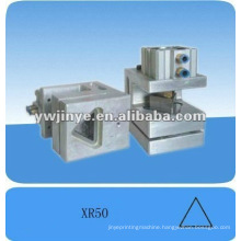 Triangular hole puncher for plastic bags/nonwoven bags,punching machine for foil bags