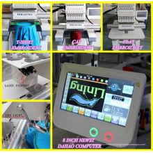 Cabeça de fábrica 1 China bordado computadorizado camiseta boné bordado máquina Ho1501c