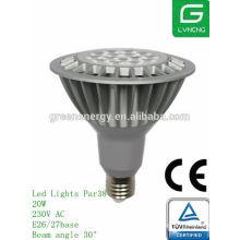 Равенство 38 Сид 16w фара par38 ТЮФ ,ULlisted ЭС энергосберегающий сертификат светодиодные лампы