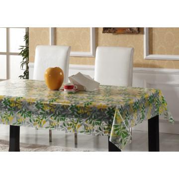 Neue Designs Kunststoff Transparente Tischdecke PVC Gedruckt Tischdecke