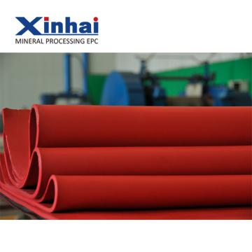 Красный теплостойкий натуральный каучук лист / износостойкий резиновый лист группы Введение