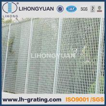 Hot DIP Galvanized Steel Grating Fence for Security
