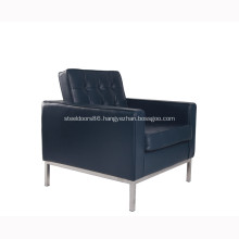 Modern Furniture Premium Leather Florence Knoll Sofa