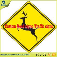 Custom reflective Warning sign