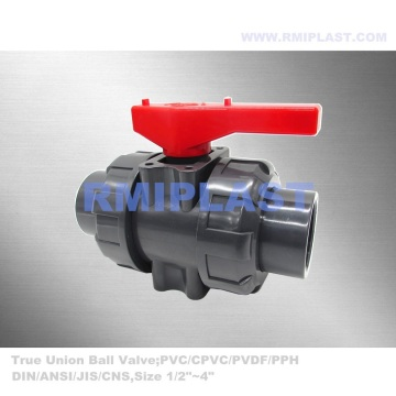 PVC True Union Ball Valve BSPT