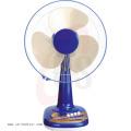 Good Design 12/16 Inch 3 PP Blade Table Fan Blue Color