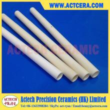 Alto rendimiento 99% Al2O3 / Mecanizado / fabricación de cerámica del tubo del alúmina