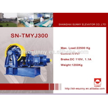 Special unique geared elevator traction machines