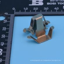 Componente de estampagem profissional de chapas metálicas