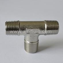 Cixi Air-Fluid Brass Fittings Equal Tee BSPT Male x BSPT Male x BSPT Male