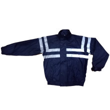 Men′s Blue Waterproof Windproof Outdoor Jacket Reflective Safety Jacket Protective Apparel