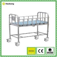 Mobiliário hospitalar para berço de berço médico de aço inoxidável (HK501)