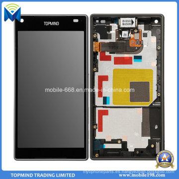 Nueva pantalla de visualización del LCD para Sony Xperia Z5 Compact