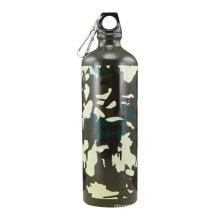 Botella de aluminio militar de diseño de alta calidad