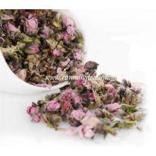 Chá da flor do pêssego