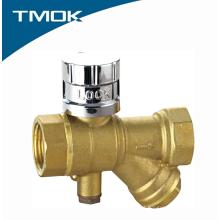 Válvula de esfera magnética lockable do fabricante de China com o Y-filtro no valvula de TMOK