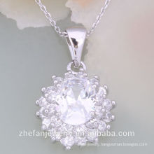 China Factory Sale Necklace Fashion Imitation Jewelry Rhodium plated jewelry is your good pick