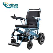 Открытый алюминиевый автоматический складной кресло-коляску с электроприводом