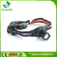 New style led rechargeable most powerful headlamp for outdoor