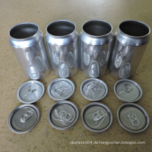Food Grade Aluminium Getränkedose Deckel 206 # 58mm Easy Open End