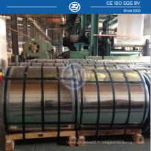 Bobine d'acier en aluminium galvanisé coloré prépainté