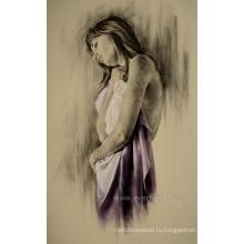 Рамки оптом Ручная работа Обнаженная женщина живопись маслом