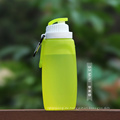 BPA-freie Glaswasserflasche mit Silikonhülle