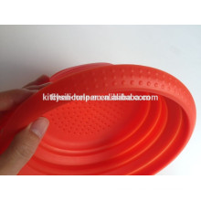 Eco-friendly non-toxic silicone collapsible laundry basket