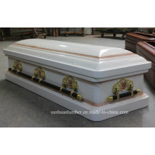 18 Ga Metal Coffin & Casket (WM01)