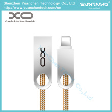 OEM Spring Charging Type C Micro Data Cable USB Lightning Cables para Samsung iPhone