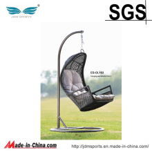 Outdoor Rattan Egg Hanging Hammock Chair (ES-OL163)