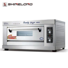 ShineLong Industrial Gas/Electric 1-Layer 2-Tray Pizza oven
