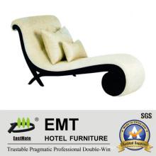 Sofá de diseño único de hotel Longue Chair (EMT-LC18)
