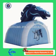 Caliente venta publicidad caballo inflable túnel