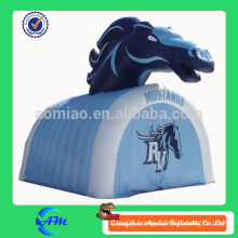 hot sale advertising horse inflatable tunnel