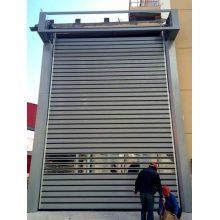 Portes en aluminium automatiques à volet roulant rapide