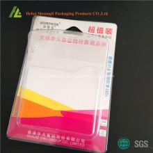 Plateau en plastique pour calculatrice avec du carton