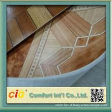 Revestimento do PVC da decoração com revestimento protetor não tecido