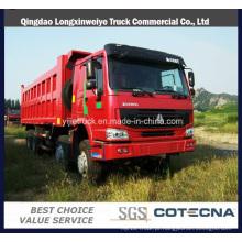 Cnhtc Sinotruck HOWO 371HP 8X4 Caminhão Pesado