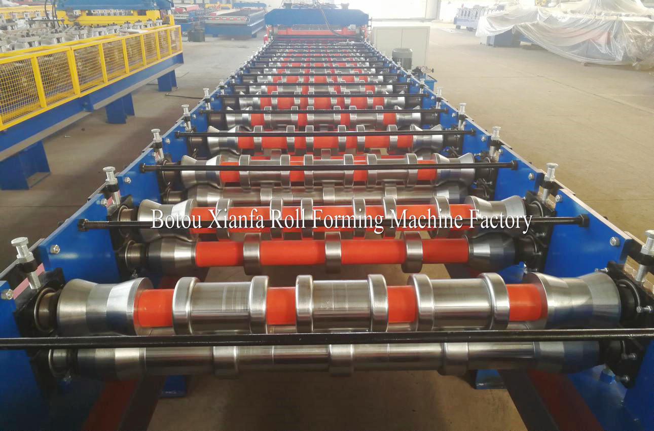 IBR metal roofing forming machine