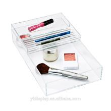 Hochwertige Acryl Make-up Zubehör Tablett