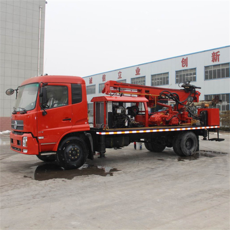 Truck Water Well Rig 11